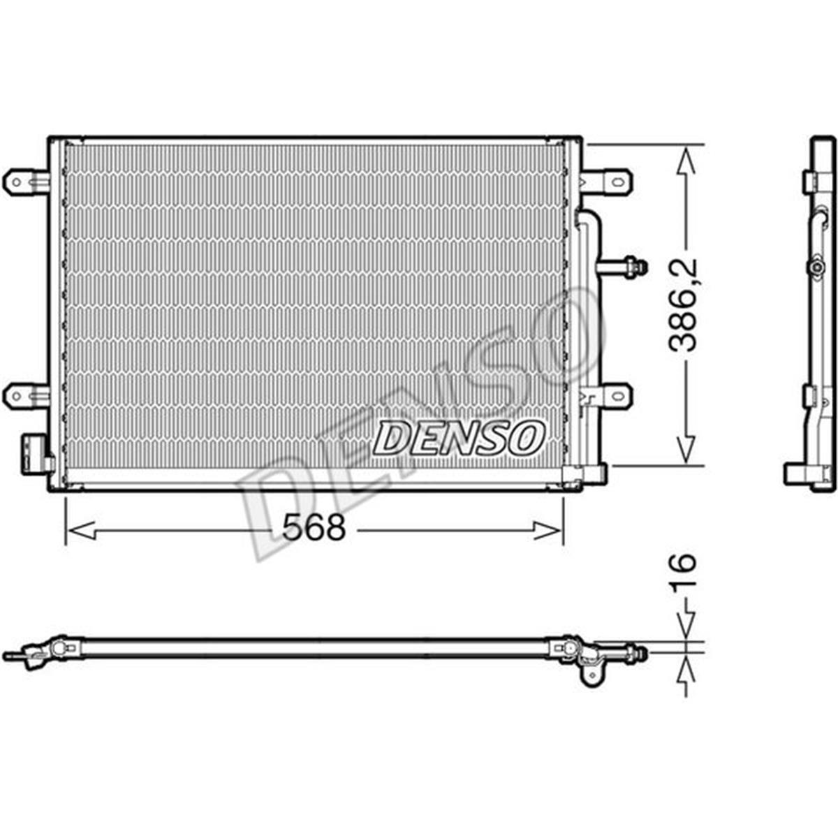 Klimaanlage NRF 35467 Kondensator