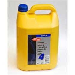 Bremsflüssigkeit DELPHI - DOT4  - 1 x 5 Liter