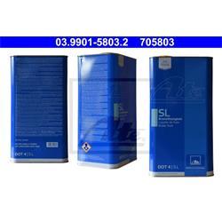 Bremsflüssigkeit SL DOT 4 - ATE - 5 Liter