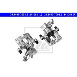 Bremssattel - ATE - Hinterachse - Links
