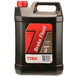 Bremsflüssigkeit - DOT3 - TRW - 5 Liter