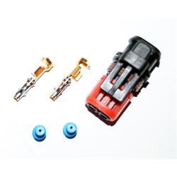 Stecker 2-polig Delphi Pumpe Düse E1 EUI