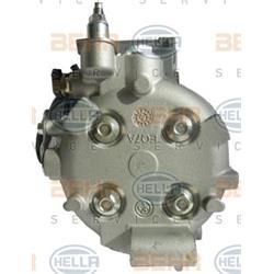 Hochdruck-/Niederdruckleitung, Klimaanlage - HELLA