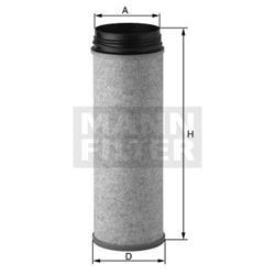 Sekundärluftfilter - MANN-FILTER