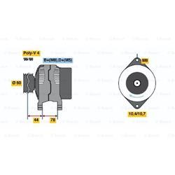 Drehstromgenerator - ORIGINAL BOSCH Tausch