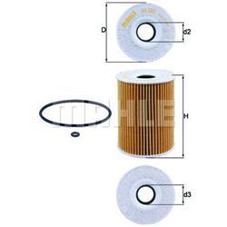 Ölfilter - MAHLE/KNECHT