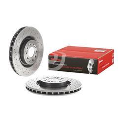 Warnkontakt, Bremsbelagverschleiß - BREMBO - Vorderachse - Hinterachse