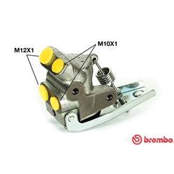 Bremskraftregler - BREMBO - Vorderachse - Hinterachse