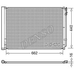 Kondensator inkl. Filtertrockner - ORIGINAL DENSO - Renault