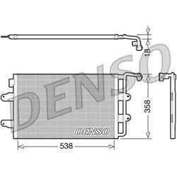 Kondensator A/C - ORIGINAL DENSO
