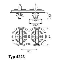 Rohrleitung, AGR-Ventil - WAHLER