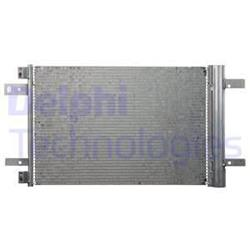 Kondensator inkl. Filtertrockner - ORIGINAL DELPHI - Citroen, Peugeot