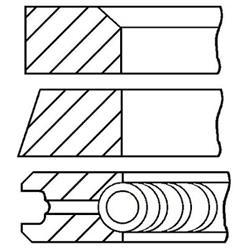 Kolbenringsatz