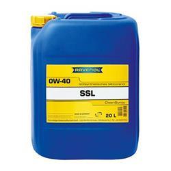 Motoröl - RAVENOL SSL SAE 0W-40 CLEANSYNTO - 20 Liter