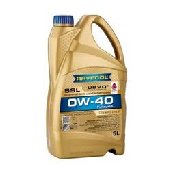 Motoröl - RAVENOL SSL SAE 0W-40 CLEANSYNTO 5 Liter