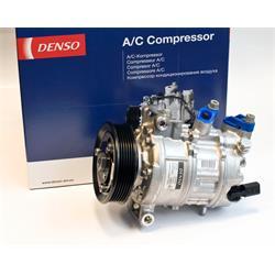Klimakompressor - ORIGINAL DENSO - NEUTEIL - Audi, Seat, Skoda, VW - VW
