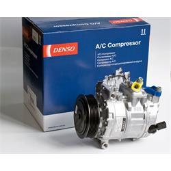 Klimakompressor - ORIGINAL DENSO - NEUTEIL - Audi, Seat, Skoda, VW