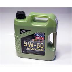 Motoröl - LIQUI MOLY - Molygen 5W-50 - 4 Liter
