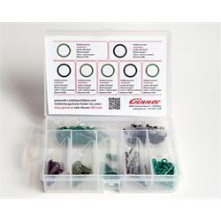 O-Ring-Sortiment für Leckölanschlüsse & Rücklaufleitungen von Injektoren
