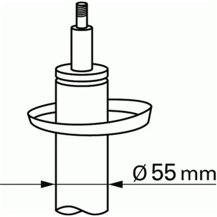 Stoßdämpfer - Sachs - Vorderachse