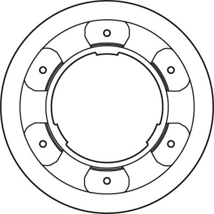 Bremsscheibe - TRW - Hinterachse