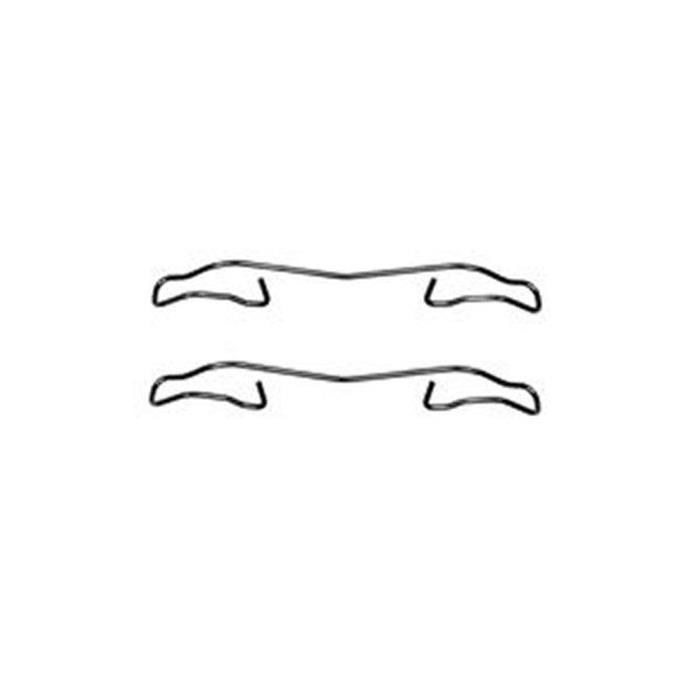 Zubehörsatz, Scheibenbremsbelag - TRW - Vorderachse