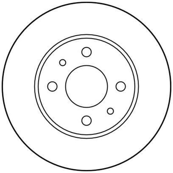 Bremsscheibe - TRW - Vorderachse & Hinterachse