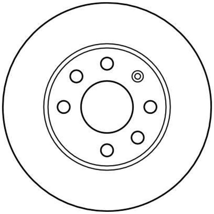 Bremsscheibe - TRW - Vorderachse