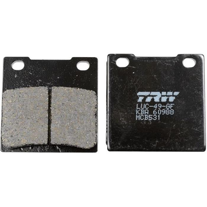 Bremsbelagsatz, Scheibenbremse - TRW - Vorderachse & Hinterachse