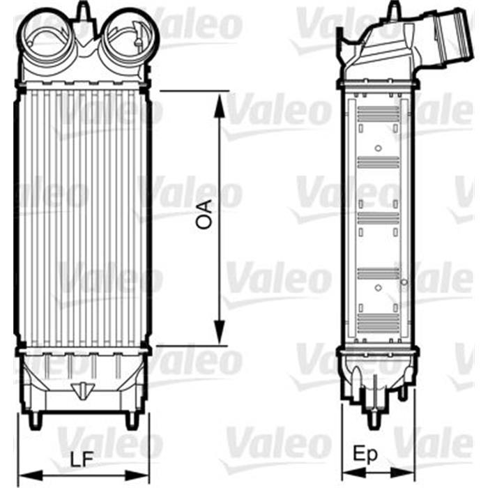 Ladeluftkühler - VALEO