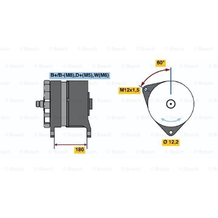 Generator - ORIGINAL BOSCH