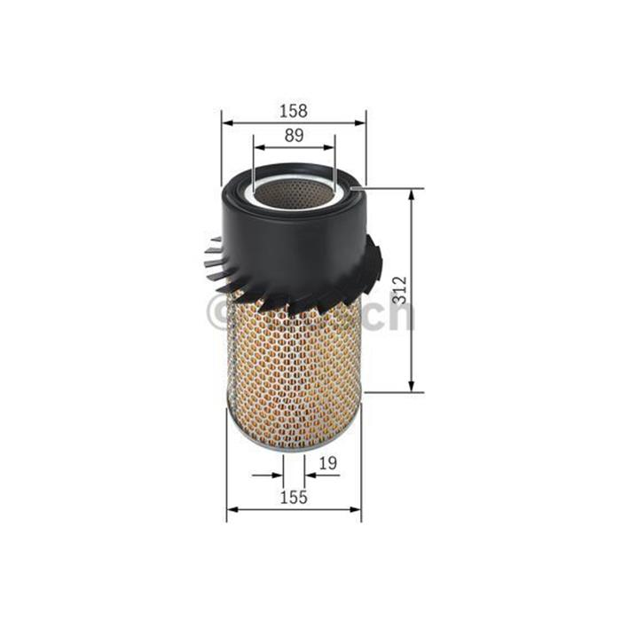 Luftfilter - ORIGINAL BOSCH