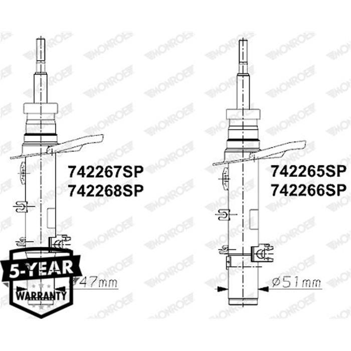 Stoßdämpfer - Monroe