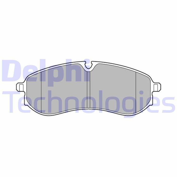 Bremsbelag/Bremsklötze - ORIGINAL DELPHI (Vorderachse)