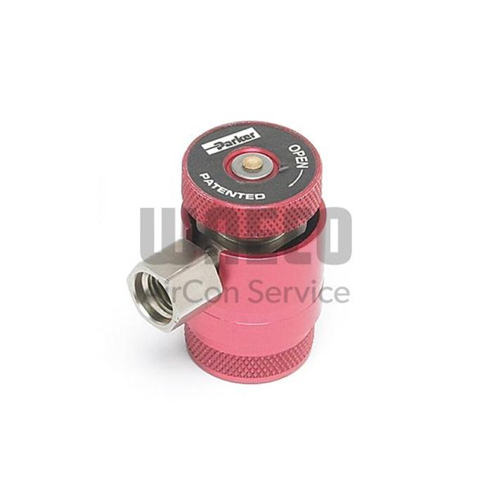 Servicekupplung HFO-1234yf - HD - ISC/ASC - Gerät