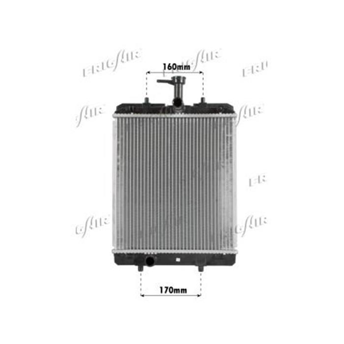 Motorkühler/Wasserkühler - Citroen