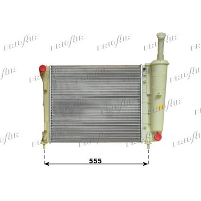 Motorkühler/Wasserkühler - Fiat