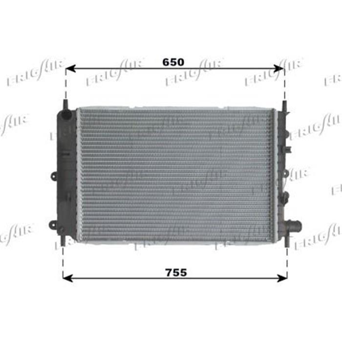 Motorkühler/Wasserkühler - Ford