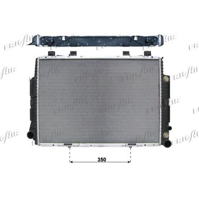 Motorkühler/Wasserkühler - Mercedes
