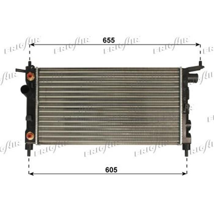 Motorkühler/Wasserkühler - Opel