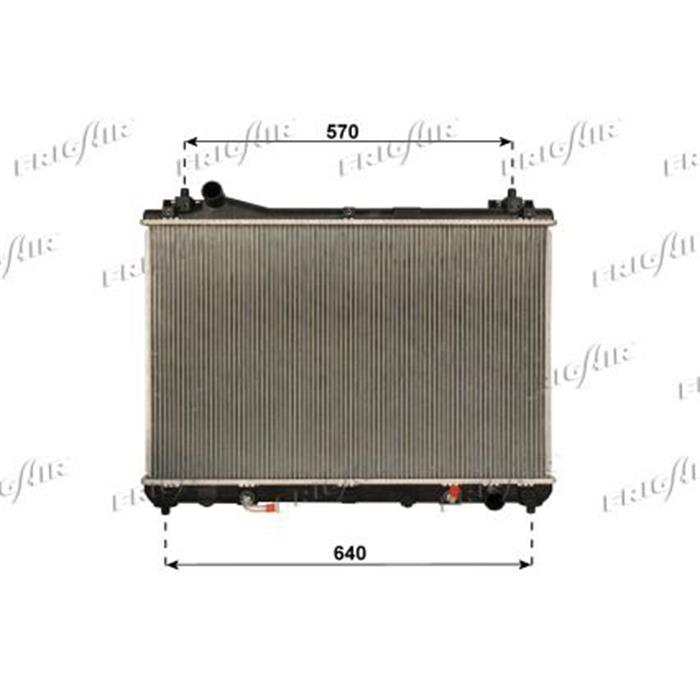Motorkühler/Wasserkühler - Suzuki