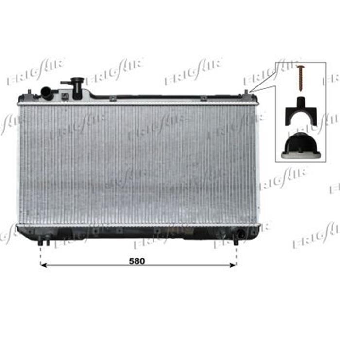 Motorkühler/Wasserkühler - Toyota