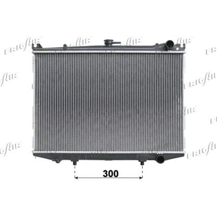 Motorkühler/Wasserkühler - Nissan