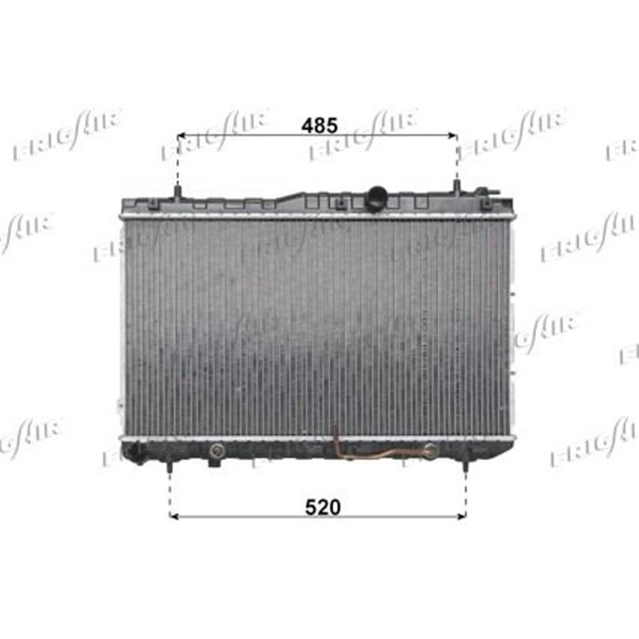 Motorkühler/Wasserkühler - Kia
