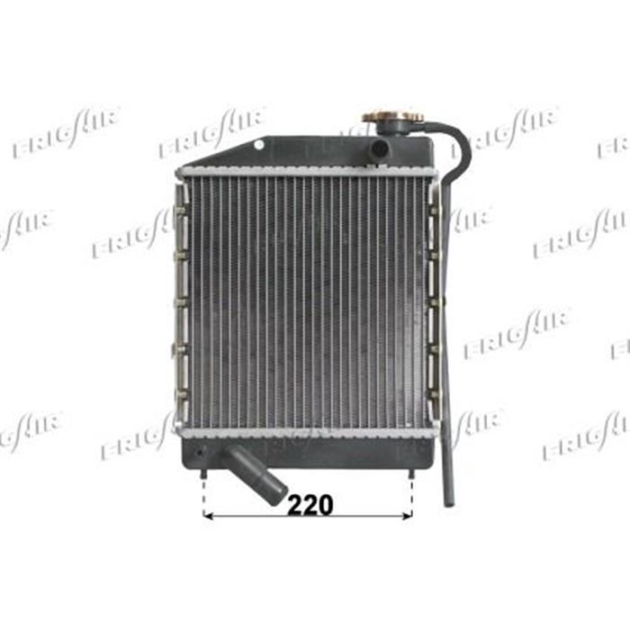 Motorkühler/Wasserkühler - Microcar