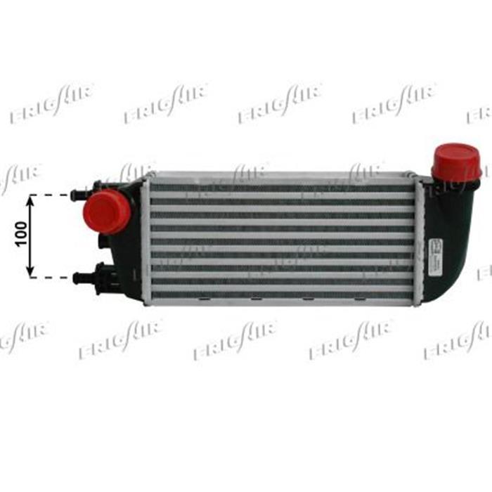 Ladeluftkühler - Fiat