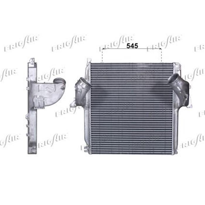 Ladeluftkühler LKW - Mercedes