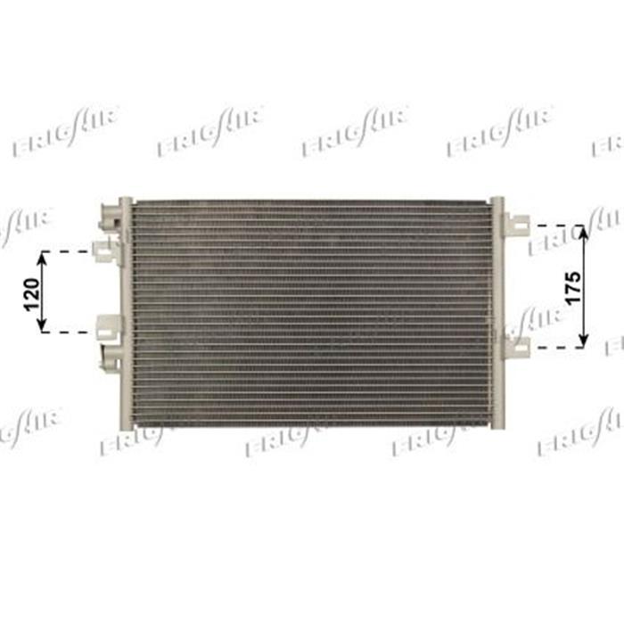 Kondensator/Klimakühler - PKW - Renault