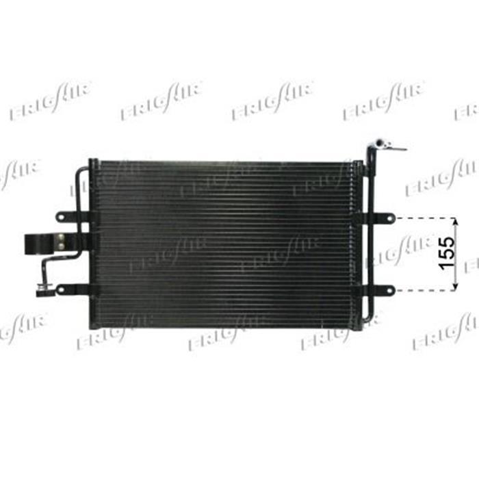 Kondensator/Klimakühler - PKW - Volkswagen, Audi