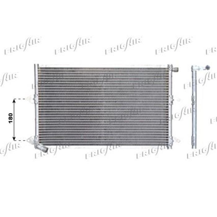 Kondensator/Klimakühler - PKW - Seat